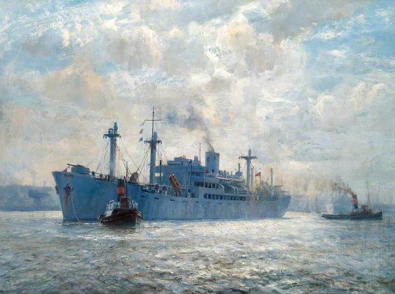 Burgess Arthur. Военный транспорт.