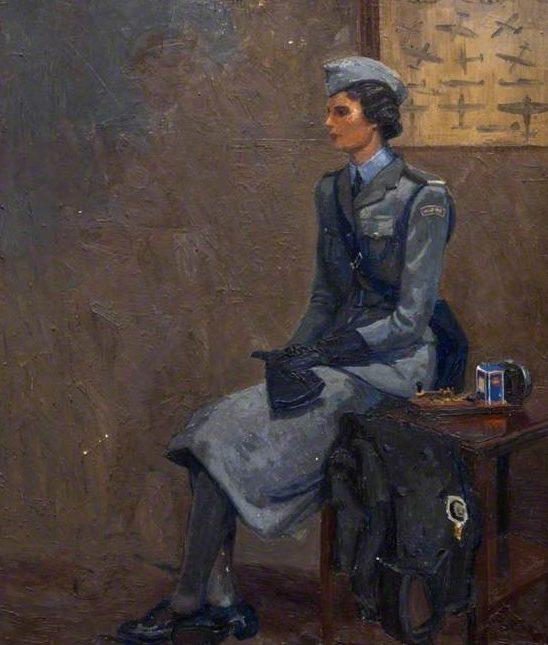 Gledstanes Elsie. Офицер Женской Армии.