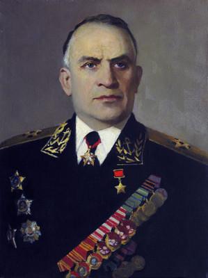 Печатин Валентин. Адмирал С. Горшков.