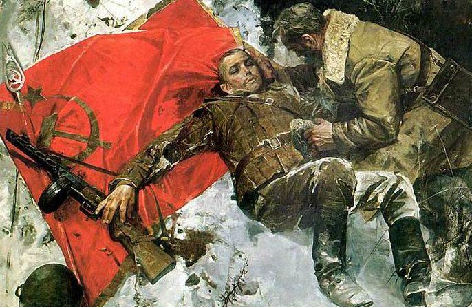 Сафронов Виктор. Боевое знамя.