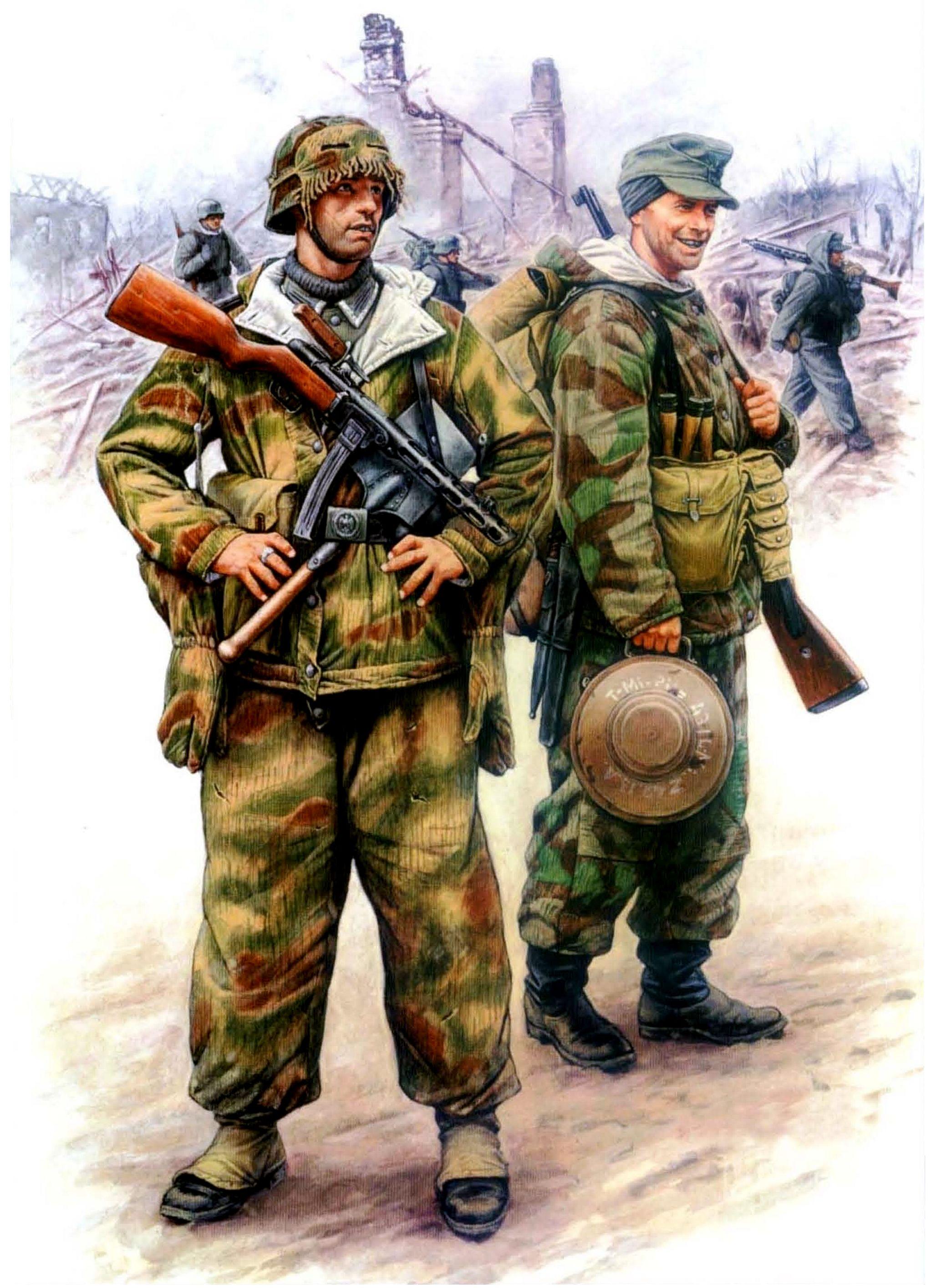 Каращук Андрей. Немецкая пехота.