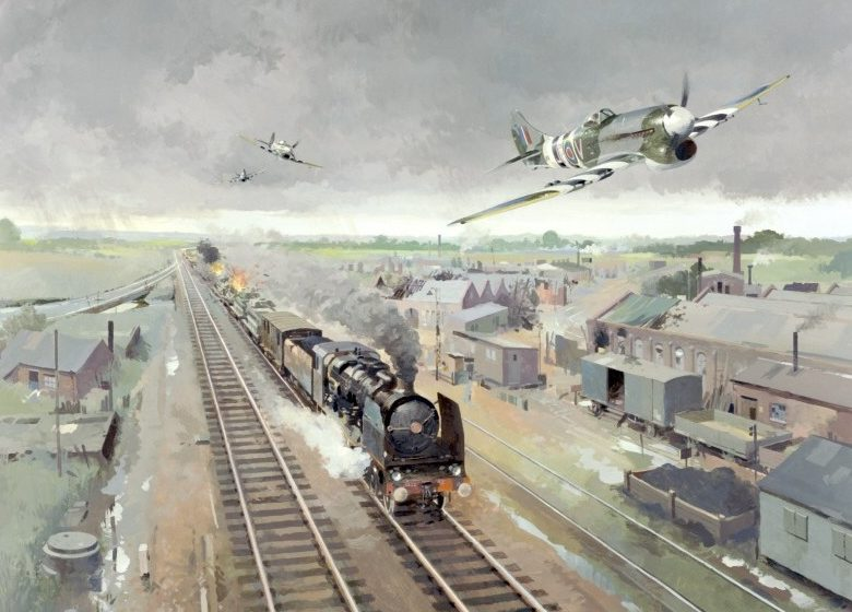 Middlebrook Roger. Истребители Hawker Tempest.