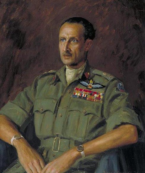Hailstone Bernard. Генерал-лейтенант Frederick Browning.
