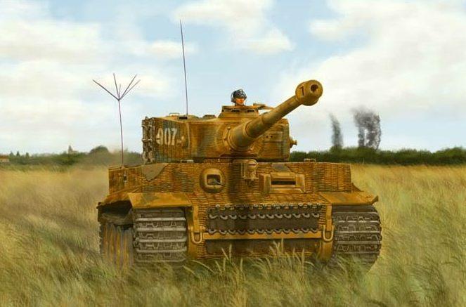 Glenn Andrew. Танк Tiger I.