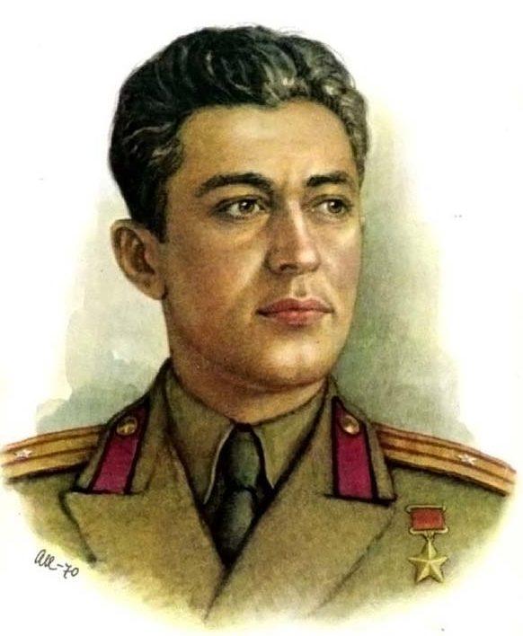 Кручина Александр. Герой Советского Союза А. Казаев.