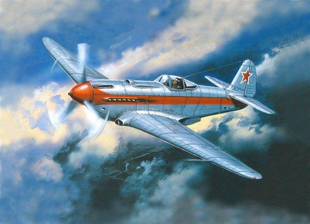 Руденко Валерий. Истребитель Як-3.