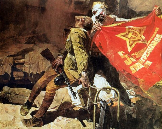 Сафронов Виктор. Гвардейское знамя.