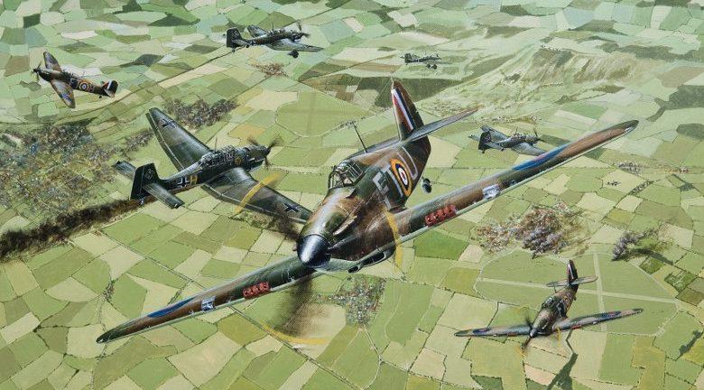 Couper Paul. Истребители Hawker Hurricane Mk.I.