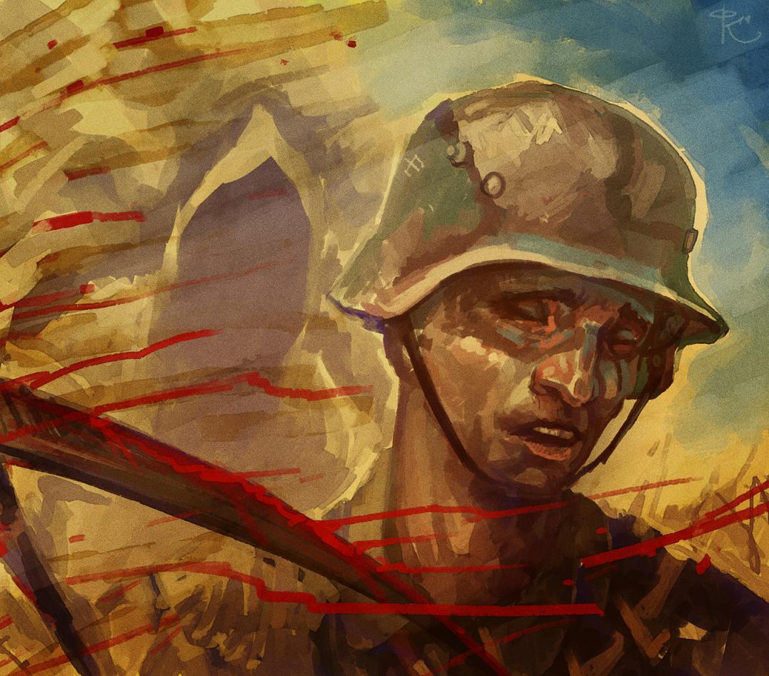 Киреев Фархад. Спутница солдата.