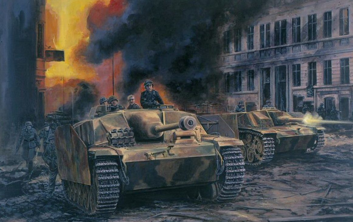 Pentland David. Оборона Берлина.