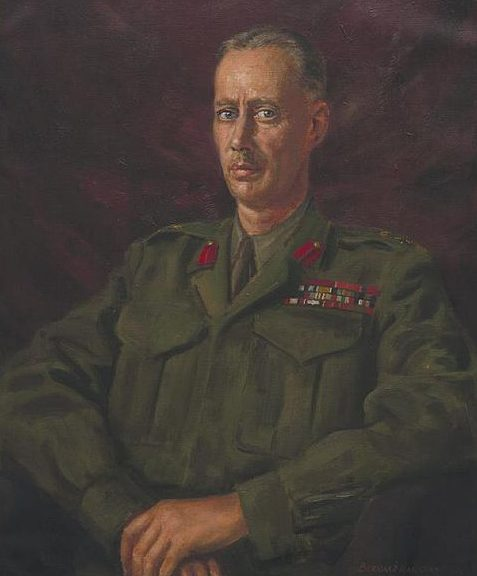 Hailstone Bernard. Генерал-лейтенант Miles Dempsey.