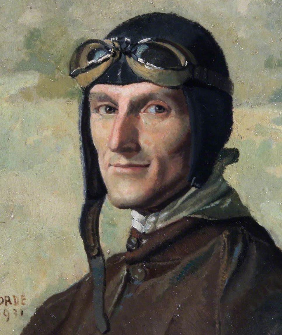 Orde Cuthbert. Пилот Augustus Henry Orlebar.