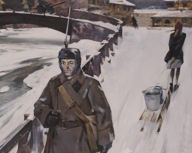 Ломакин Олег. Ленинград. 1942 год.