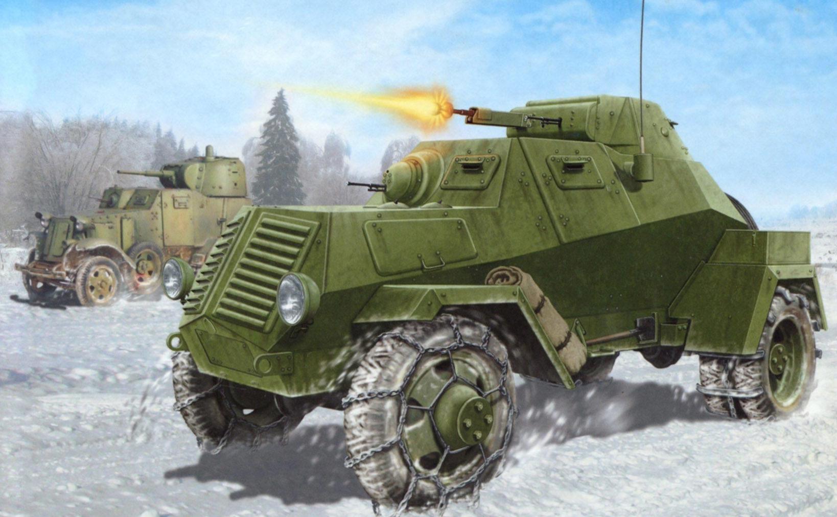 Петелин Валерий. Опытный бронеавтомобиль ГАЗ-ЛБ-62.