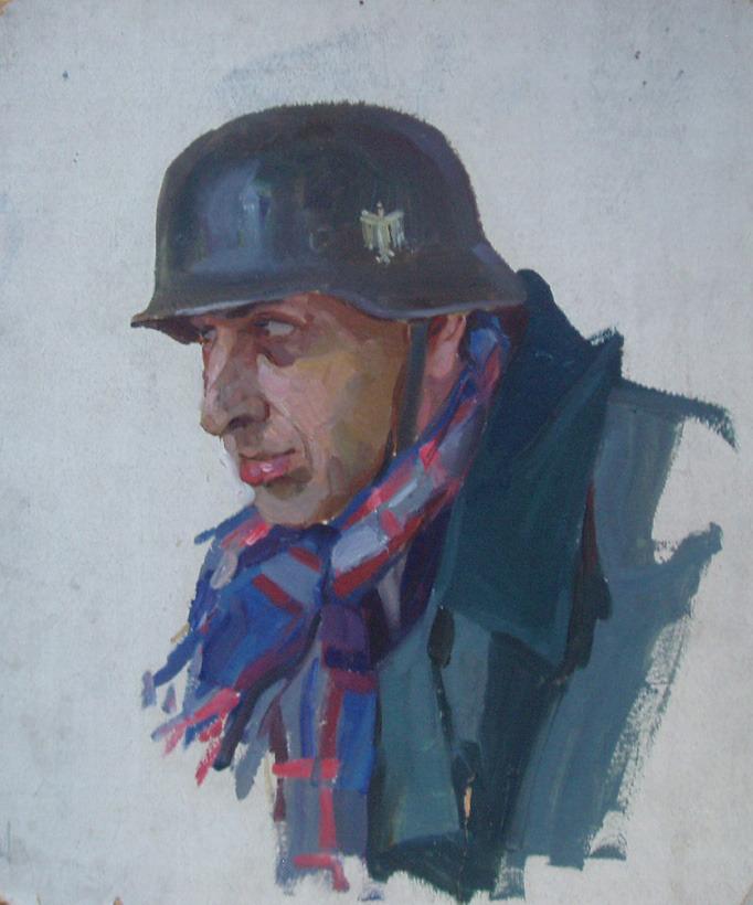 Горпенко Анатолий. Немецкий солдат.