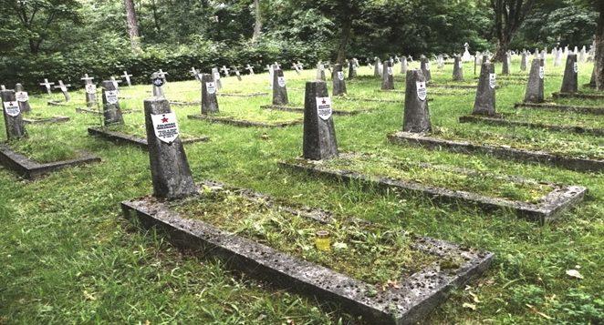 г. Белосток. Воинское кладбище по улице 11 Листопада, где захоронено 198 советских воинов в т.ч. 159 неизвестных, погибших в годы войны.