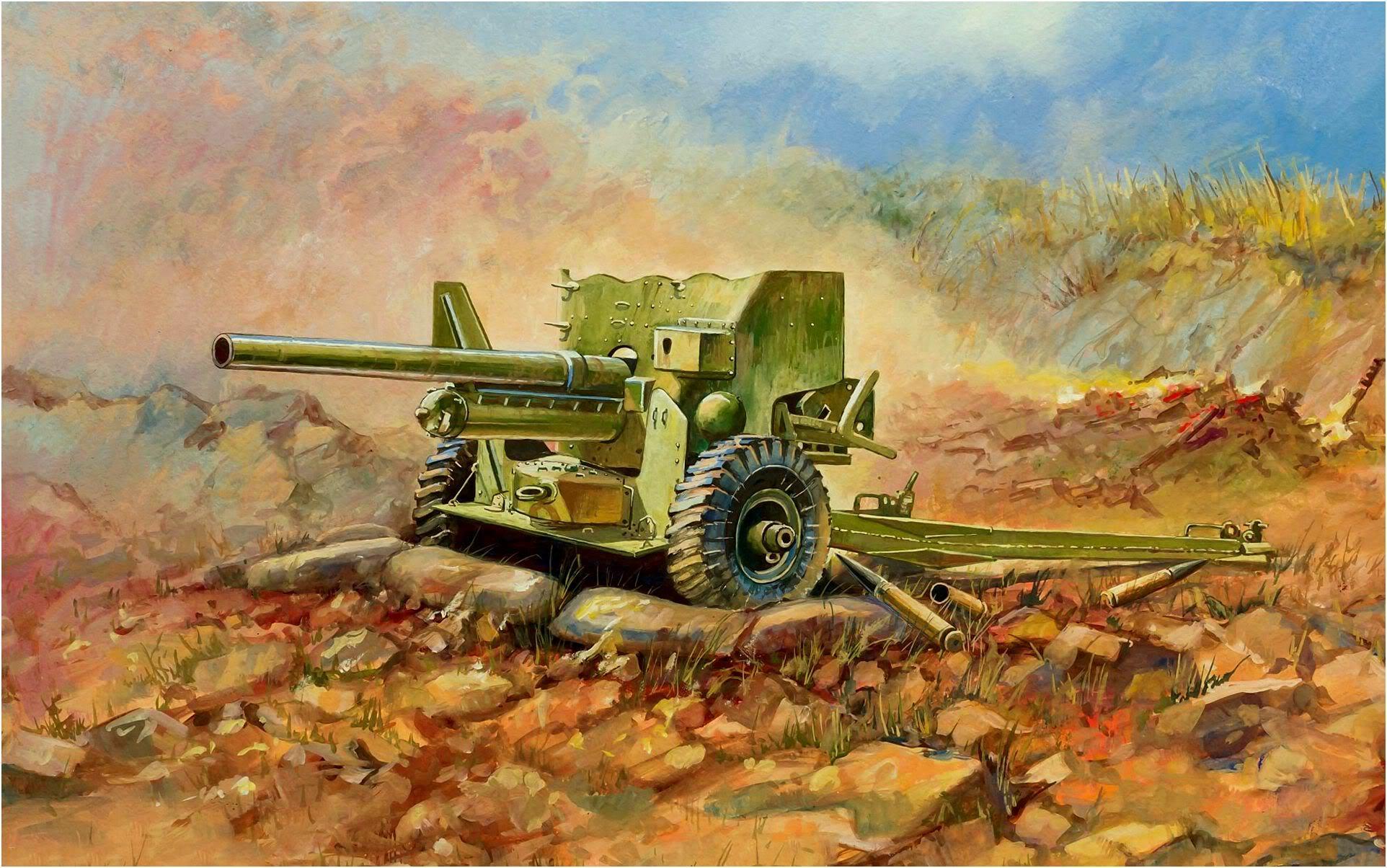 Дудчик Дмитрий. 57-мм противотанковая пушка.