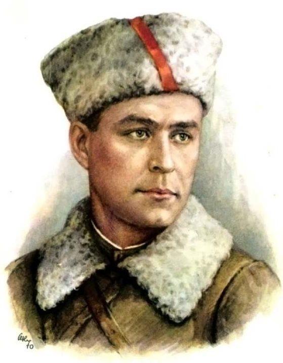 Кручина Александр. Герой Советского Союза К. Карицкий.
