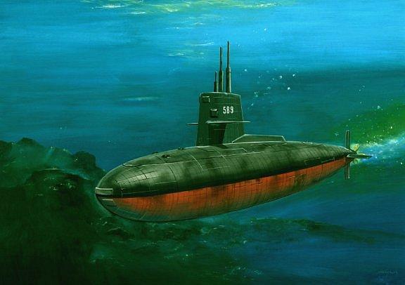 Степанский Виктор. Подлодка Scorpion SSN-589.