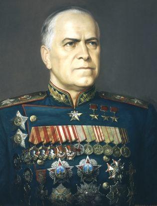Шилов Виктор. Маршал Жуков Г.К.