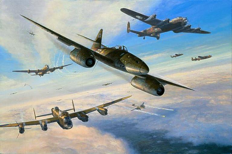 Postlethwaite Mark. Истребитель Ме-262.