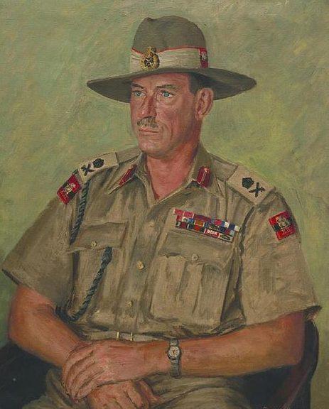 Hailstone Bernard. Генерал-лейтенант Montagu Stopford.