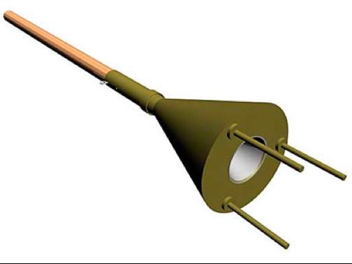 Рисунок противотанковой ударной мины Ni-05.