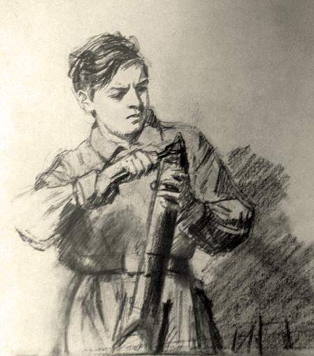 Жуков Николай. Тыл - фронту.