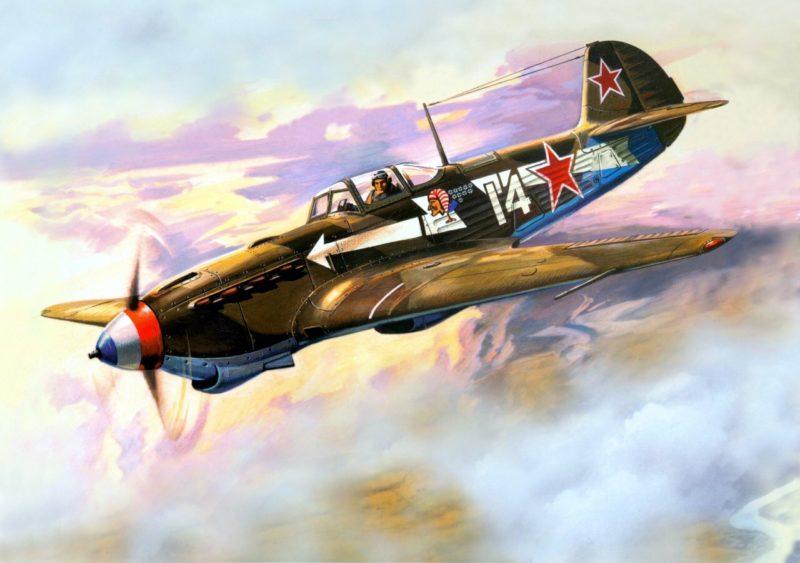 Руденко Валерий. Истребитель Як-7.