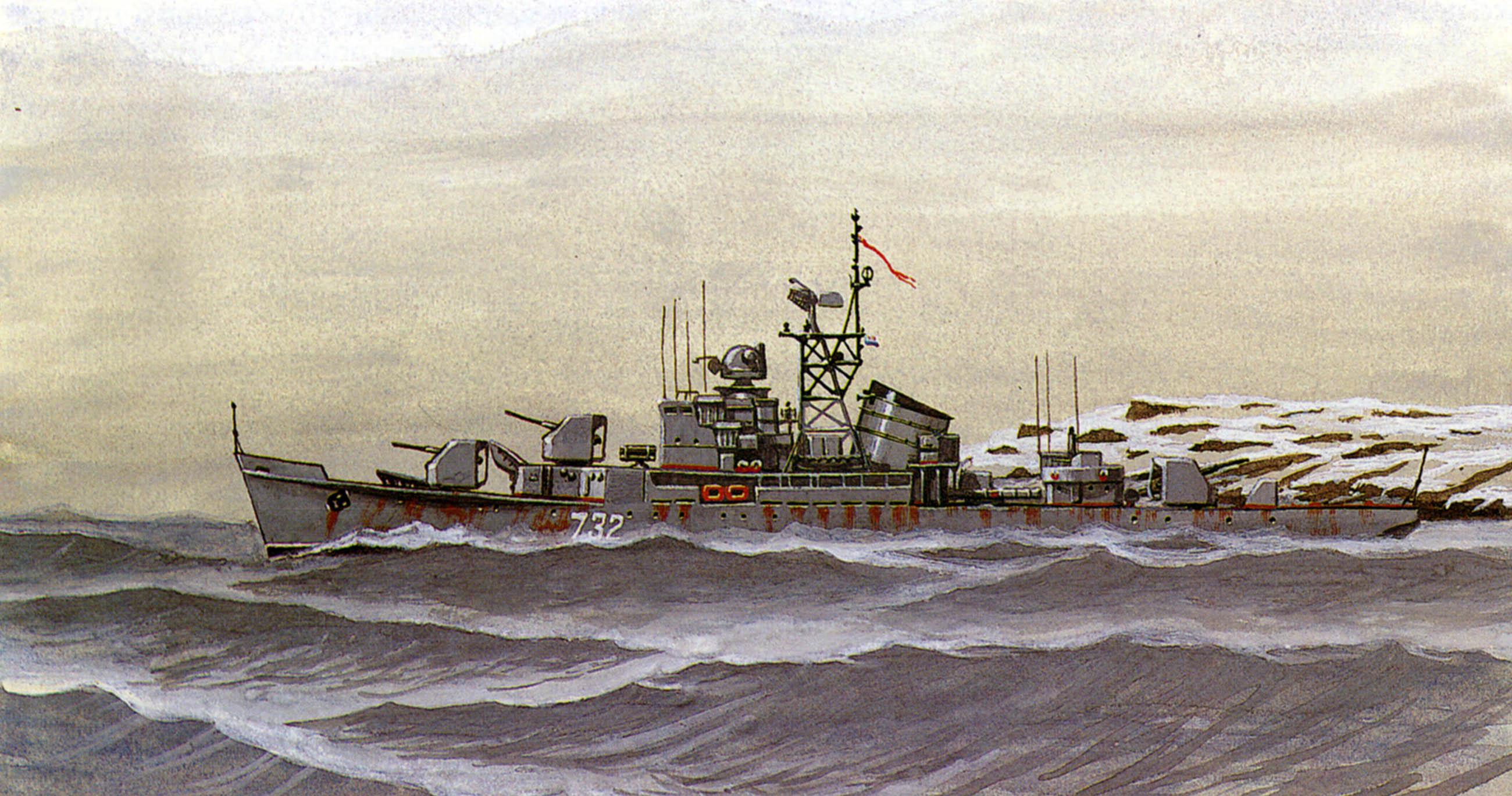 Ярулин Тимур. Сторожевой корабль типа «Кугуар».