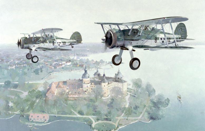 Middlebrook Roger. Истребители Gloster Gladiator.