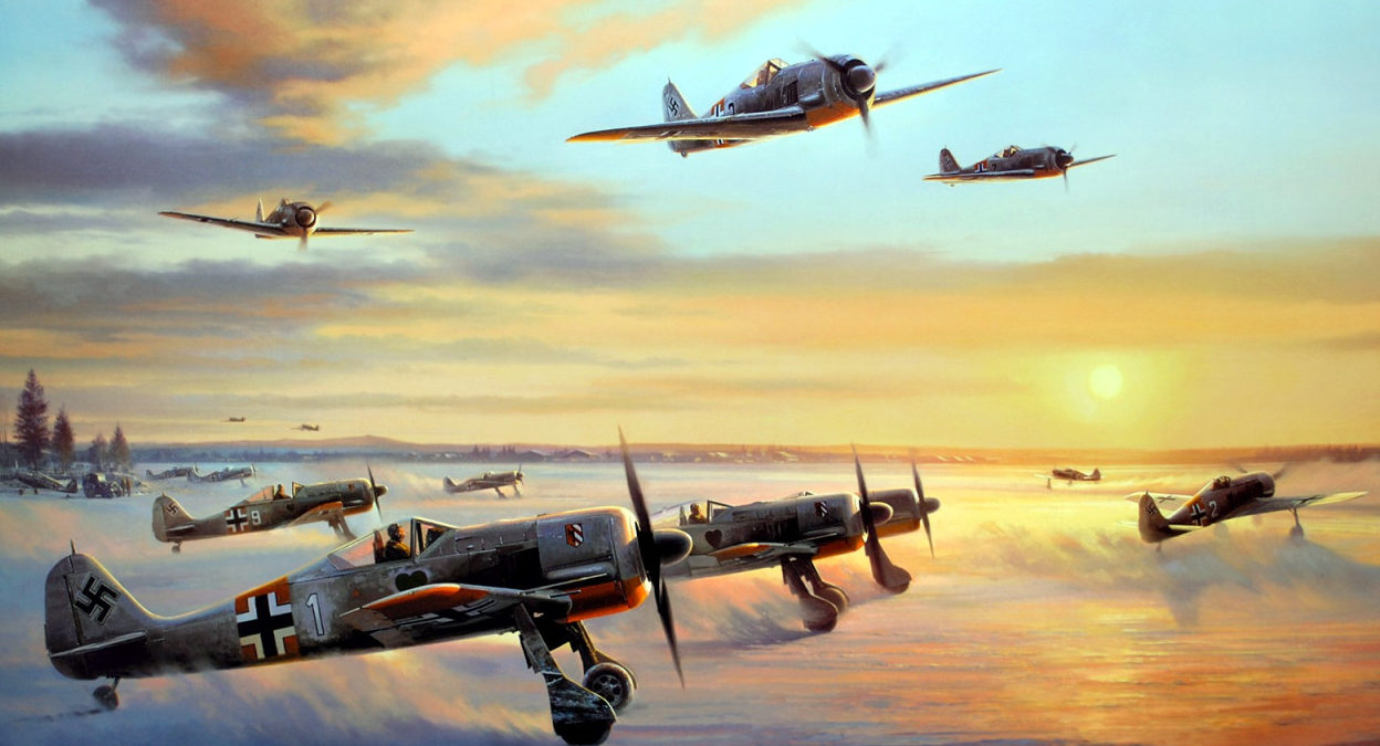 Trudgian Nicolas. Истребители Fw-190.