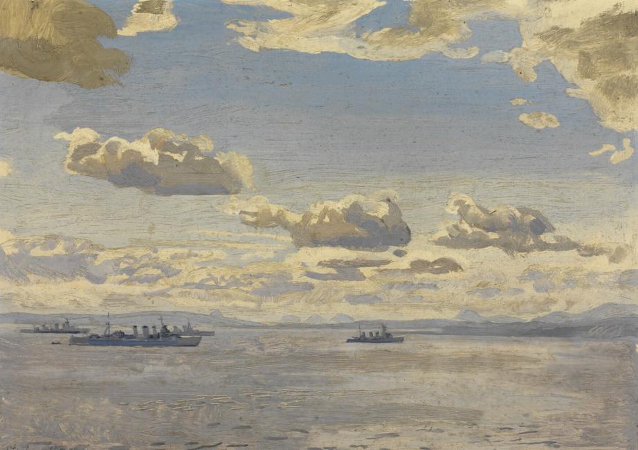 Bone Stephen. Крейсерский флот в Firth of Forth.