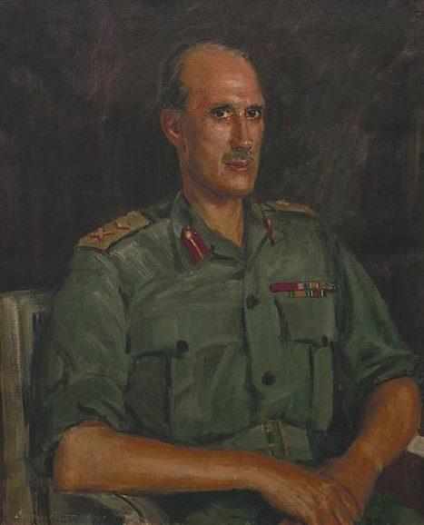 Hailstone Bernard. Генерал-майор Denning.