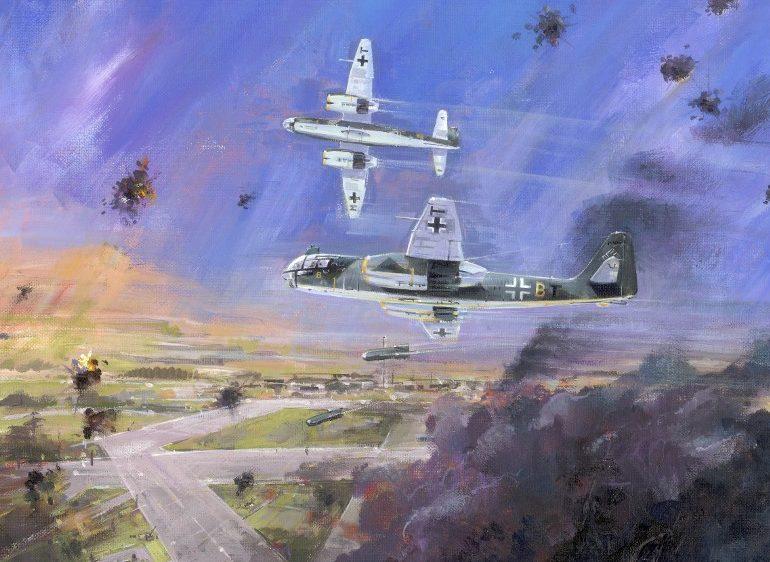 Calow David. Бомбардировщик Ar-234.