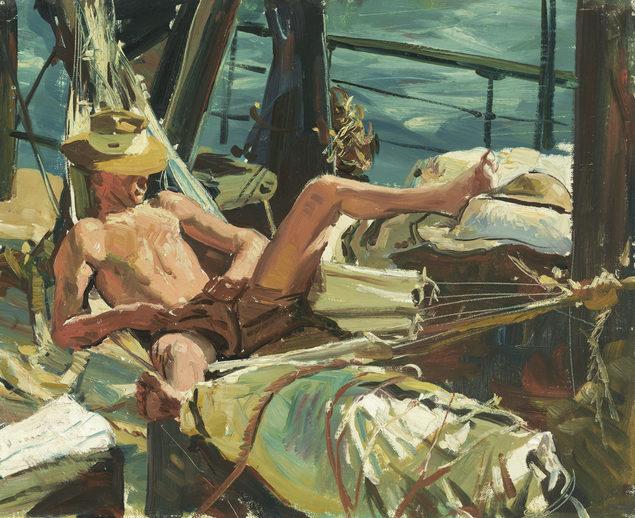 Dargie William. Путешествие солдат через океан.