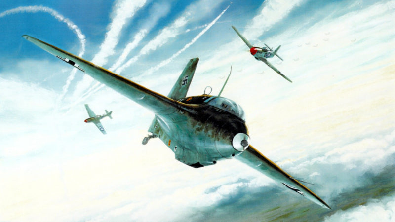 Postlethwaite Mark. Истребитель Ме-163.