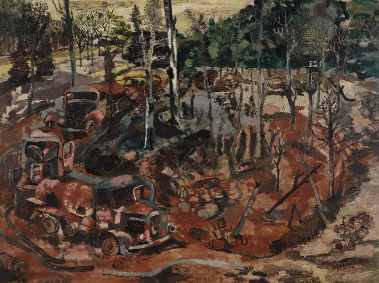 Richards Albert. Сожженные немецкие бензовозы.