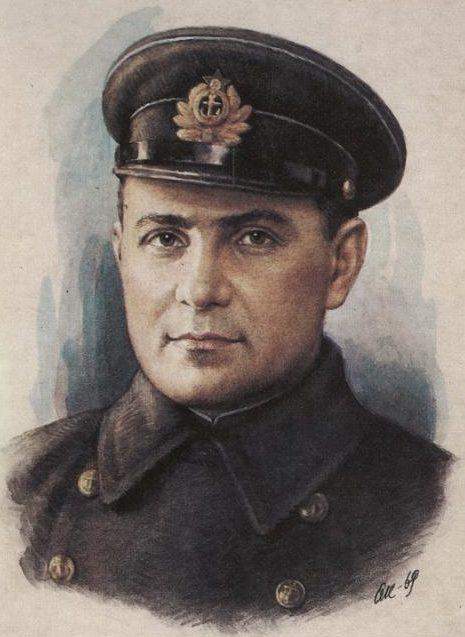Кручина Александр. Герой Советского Союза Ц. Куников.