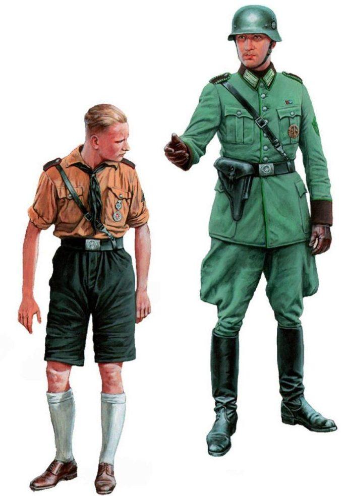 Каращук Андрей. Гитлерюгенд и полевая жандармерия.