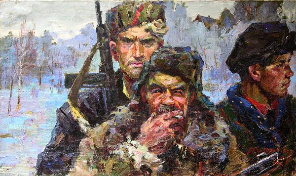 Сафронов Виктор. Партизаны.