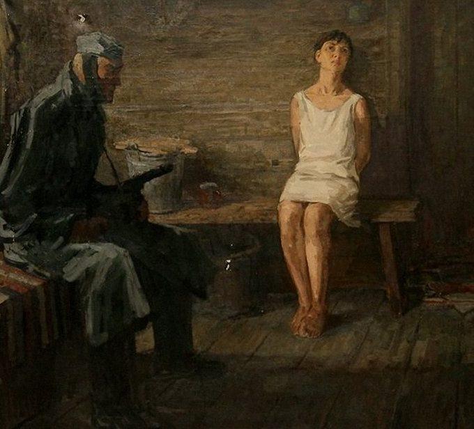 Щукин Виталий. Зоя Космодемьянская.