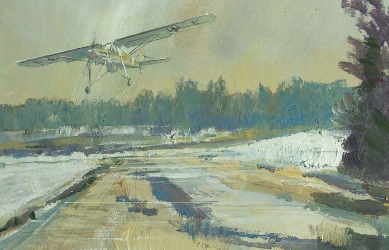 Calow David. Разведывательный самолет Fi.156 Storch.