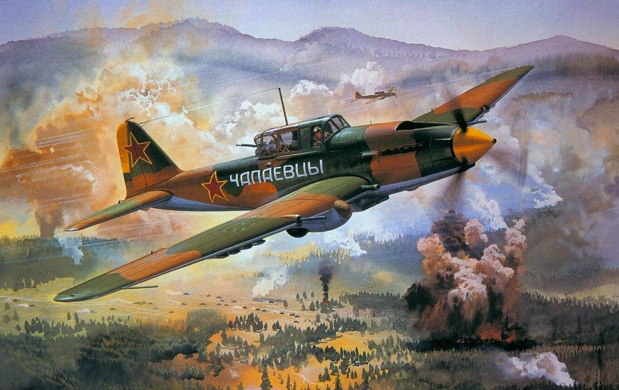 Cross Roy. Штурмовик Ил-2.