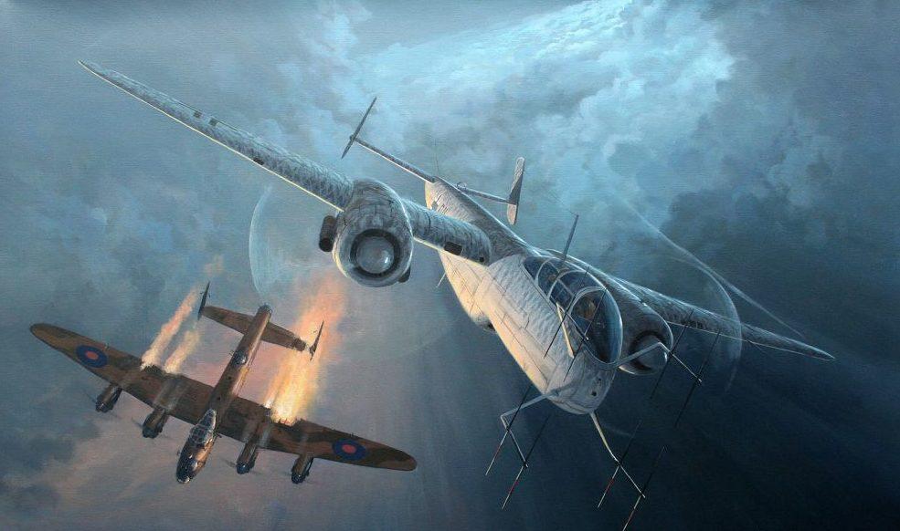 Postlethwaite Mark. Ночной истребитель He-219.