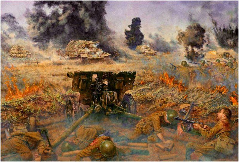 Noon Steve. Курская Дуга. 5 июля 1943 г.