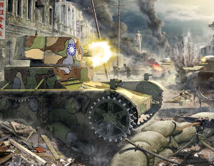 Петелин Валерий. Танк Vickers Mk E.