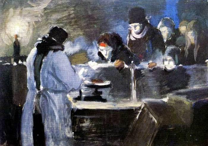 Фитингоф Георгий. Сто граммов хлеба. 1941.