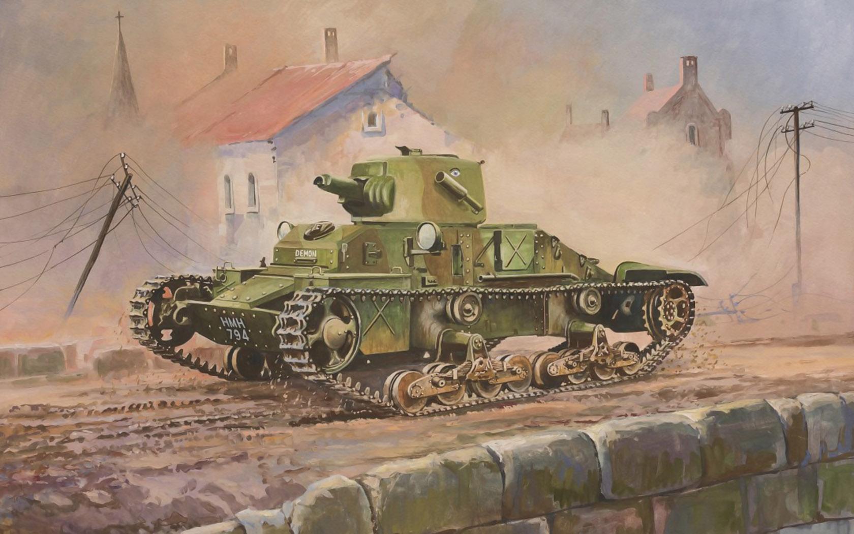 Дудчик Дмитрий. Танк Matilda Mk.I «Demon».