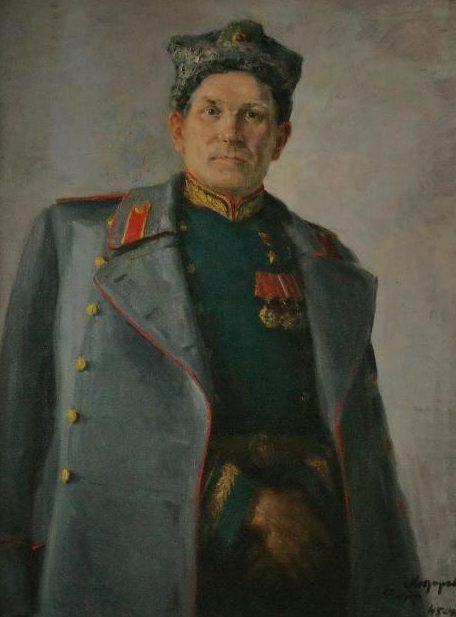 Модоров Федор. Портрет генерала В.З.Коржа.